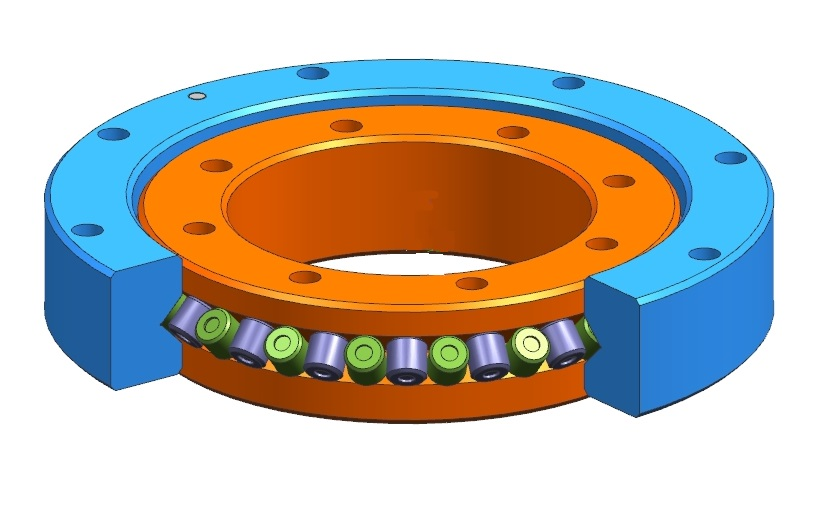 Spacerless Slew-ring Bearing