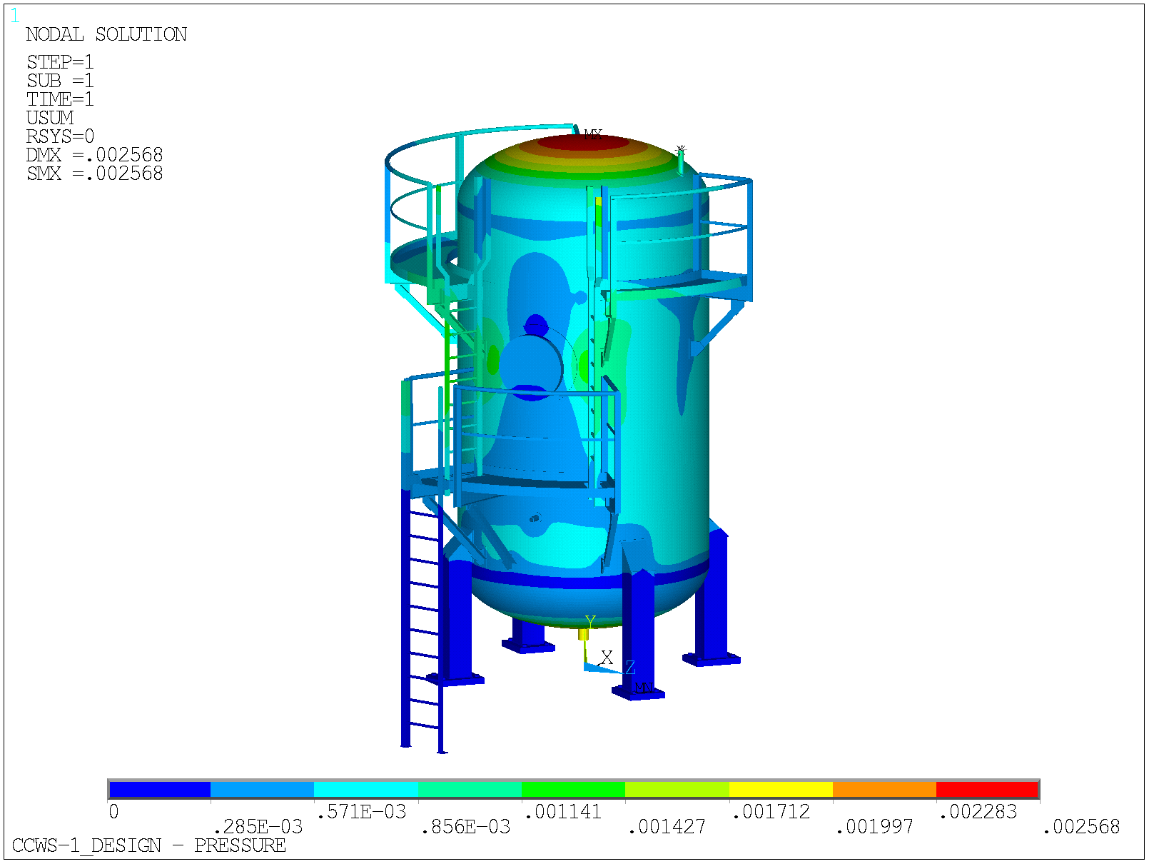 FE Analysis of 12 M Door Assembly